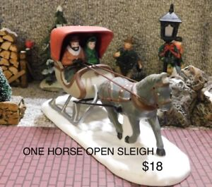 Horse and Wagon Accessories, Department 56