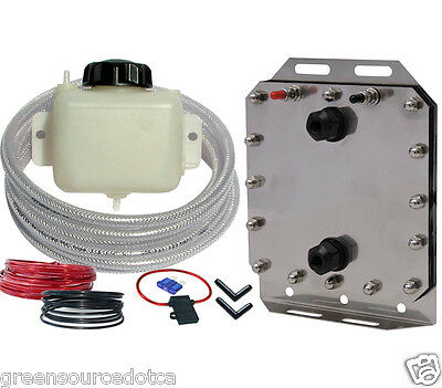 Better Fuel Hydrogen HHO generator kit for cars, dry cell, installation