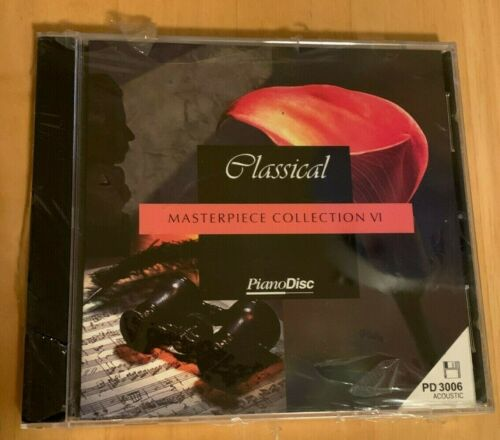 """Masterpiece Collection VI, PianoDisc 3.5"""" diskette for player piano, PD3006"""