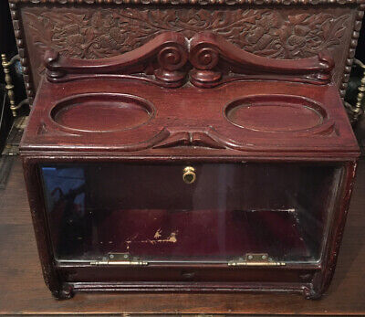 Antique Shop Counter Display Case Cabinet by Roger Alpin Dublin - Tobacconist
