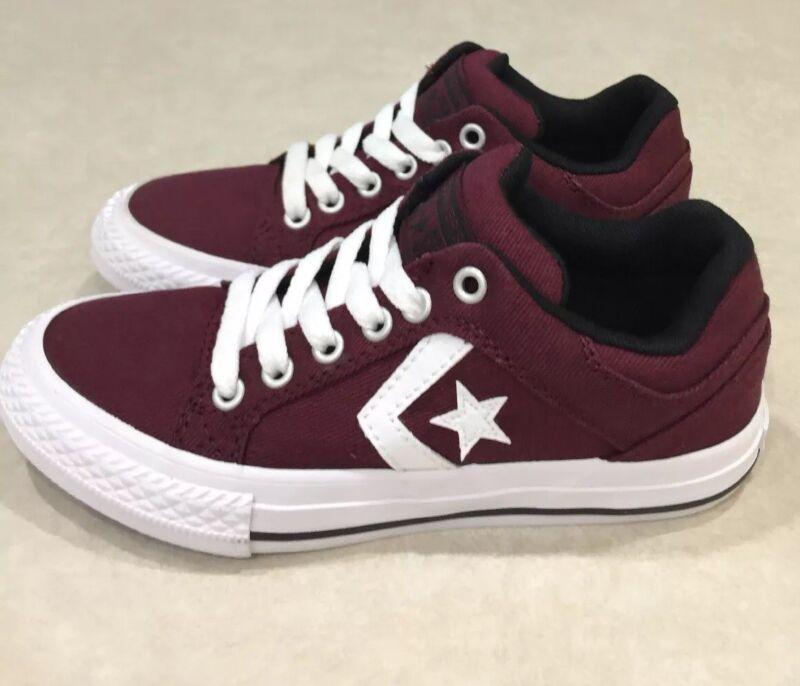 "CONVERSE ""CTAS"" Youth Deep Bordeaux Sneakers~~Size 12"