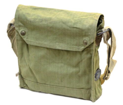 Genuine WWII British Mk VII Gas Mask Bag Indiana Jones Satchel
