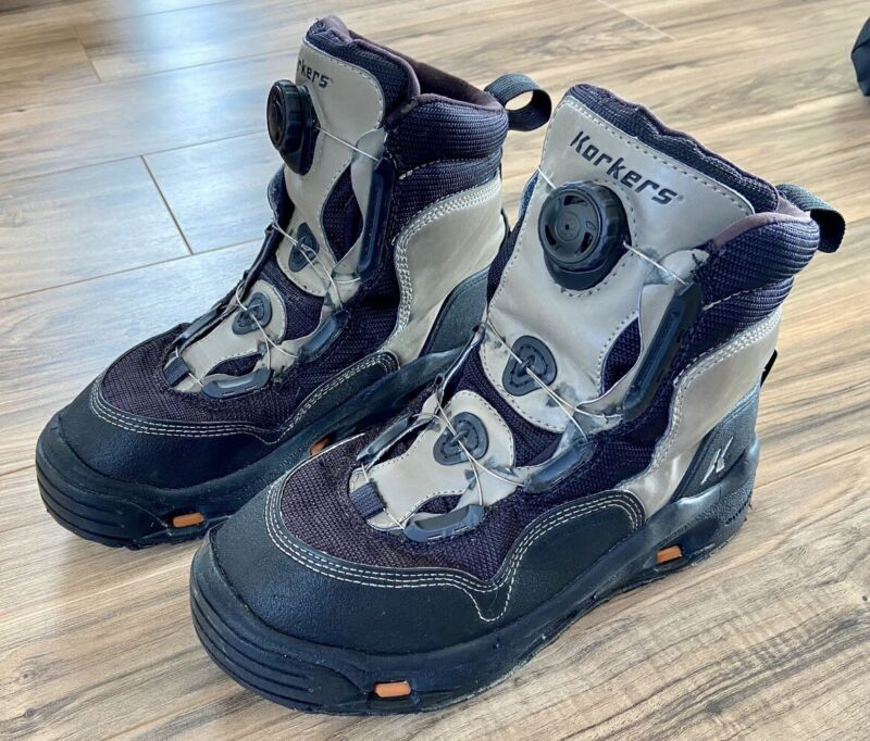 Wading boots Korkers BOA System