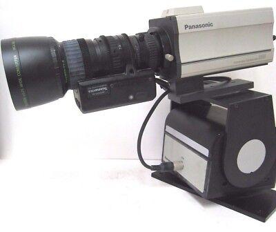 Standard Definition Pan (Panasonic Security Camera aw-E600 W/ Telemetics Pan/Tilt, Fujinon WCV-65 Lens )