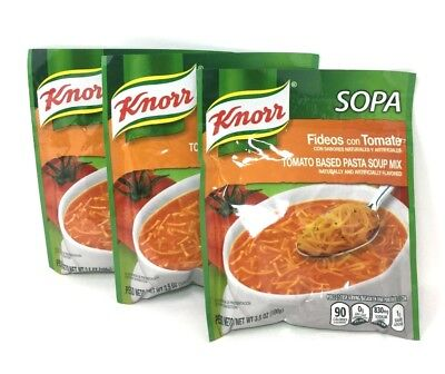 Knorr Pasta Soup Mix, Tomato Based Noodle Pasta, 3.5 oz- Pack of (Homemade Tomato Soups)