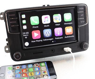 VW 6.5'' MIB RCD330 Original CarPlay 187B Stereo 6RD 035 187 B  w/ Free Adapters