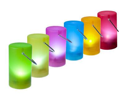 LED Hängelampe Hängeleuchte versch. Farben Batteriebetrieb 12 x 6,5 cm ()