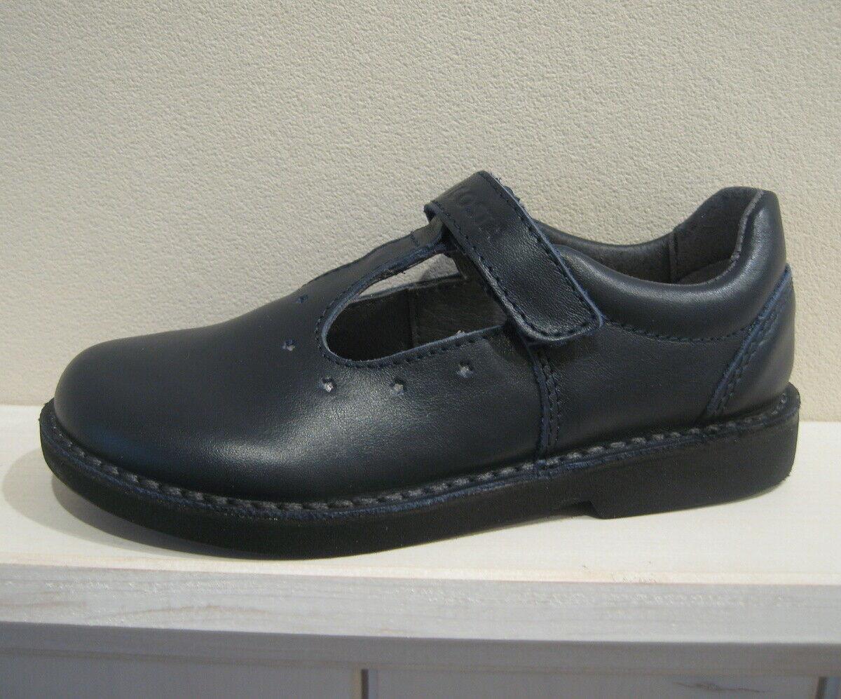 Ricosta Mädchen Ballerinas Schuhe Gr. 27 dunkelblau Doris