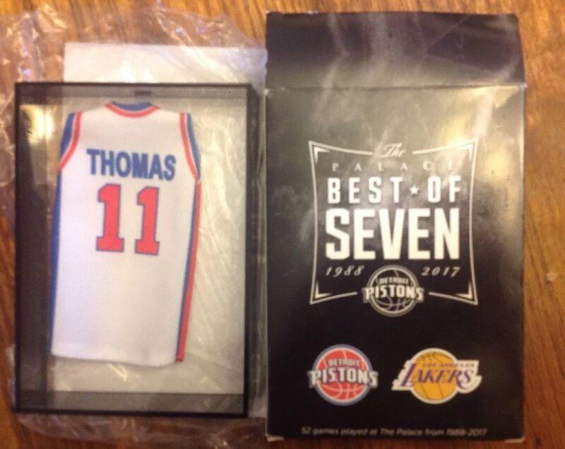 Detroit Pistons Isiah Thomas lapel pin-Hardwood Collectable-#1 Best Seller//Gift