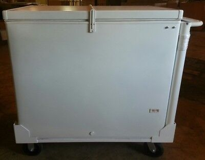 Fricon 6ffe 9.7 Cf Eutectic Cold Plate Push Cart Ice Cream Freezer
