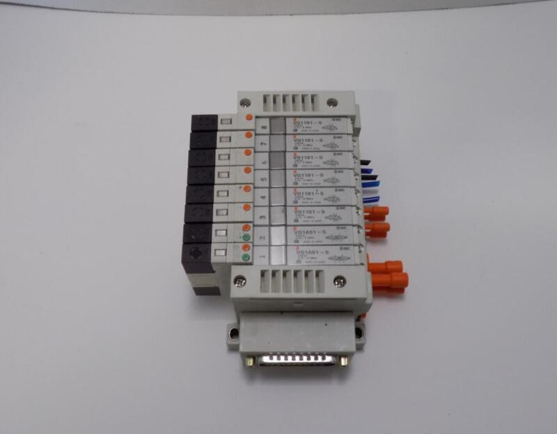 SMC A-272-9900055 VQ1101-5 8 Port Solenoid DIN Assy