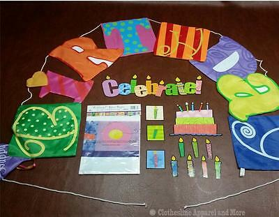 Lot of 14 Birthday Decorations banner, door hanger, magnets office party