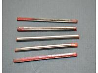 2 New Old Stock Edestaal  Unimat 2761 Lathe Cut-off Bits for Parting Tool.