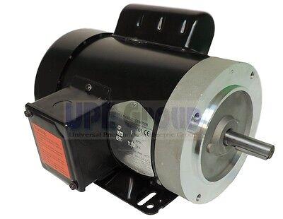 1 Hp Electric Motor 3450 3600 Rpm 1ph 56c Frame Tefc 115230v General Purpose