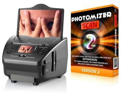Somikon SD-1400 3in1-Dia Foto und Negativ-Scanner Fotoscanner digitalisieren