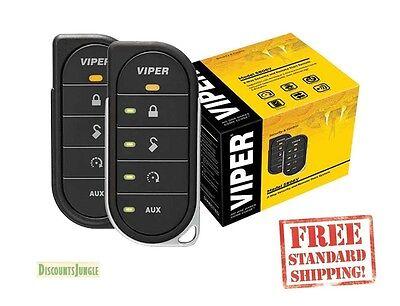 Viper 5806V 2 Way LED Car Alarm Security System and Remote Start System Starter