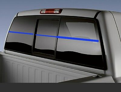 3 4  Thin Blue Line Stripe Strip Window 60  Vinyl Decal Police Lives Matter