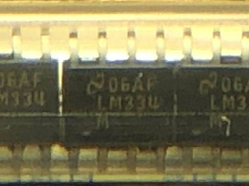 LM334M, 3-Terminal Adjustable Current Source, 8-SOIC, LM334
