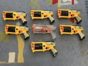 Nerf Maverick Rev-6 Toy Blasters Bundle - instant kids party!