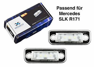Premium LED Kennzeichenbeleuchtung Mercedes SLK R171 KB26