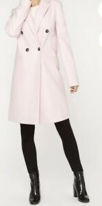 Blush Dress Coat Size 6 (Small)