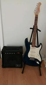 Stagg S300 with Amp and lead great guitar