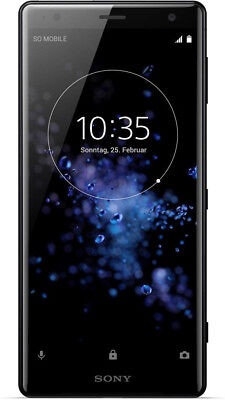 Sony Xperia XZ2 Single Sim Liquid Black, TOP Zustand