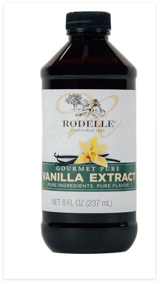 Rodelle Gourmet Vanilla Extract / 8oz big bottle - Kosher /