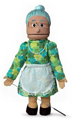 Silly Puppets Granny (Hispanic) 25 inch Full Body Puppet