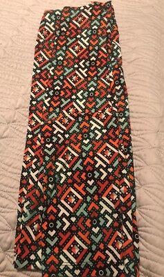 Lularoe TC Leggings Aztec New!