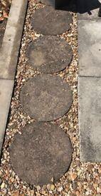 Decorative paving stones