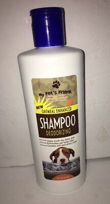 My Pet's Friend Oatmeal Enhanced Deodorizing Shampoo,1-16-oz. Bottle-SHIPS N 24H