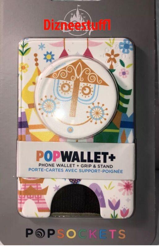 Disney Parks It's a small World Popsockets PopWallet Plus Pop Wallet