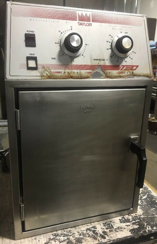 COMMERCIAL TAYLOR VENTLESS COUNTER TOP PIZZA SANDWICH EXPRESS OVEN Model 904-18