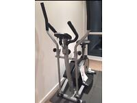 York 2 in 1 cross trainer and exercise bike