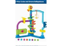 Fisher price ball tower