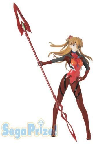 Neon Genesis Evangelion Figure Asuka Langley Lance of Cassius LPM figure Sega
