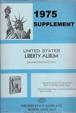 1975 Harris Liberty U.S. Stamp Album Supplement - Retail ...
