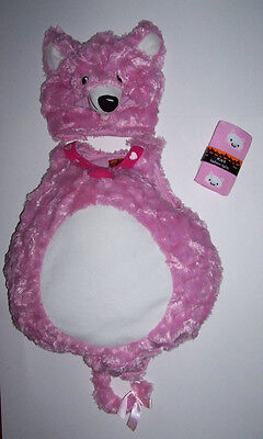 6 12 Month Halloween Costumes (NWT CHILDREN'S PLACE PINK KITTY COSTUME 6-12 MONTH new TCP)