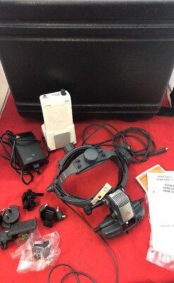Heine Omega 500 Unplugged Binocular Headlight Wpower Pack Accessories In Case
