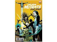 New Mutants Dead Souls 1 Mark Brooks Trade Variant Magik 3000 Signed CGC CBCS It