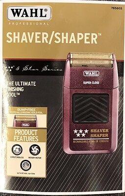 WAHL 5-Prima donna Shaver / Shaper Cord / Cordless Bump Free Shaver Priority Mail Ship!