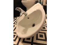 Ideal standard sink Bristan tap & plug