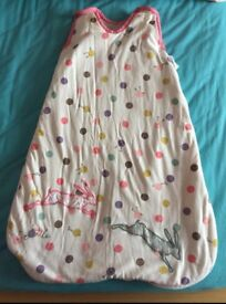 Joules sleeping bag 0-6 months 2.5 togs
