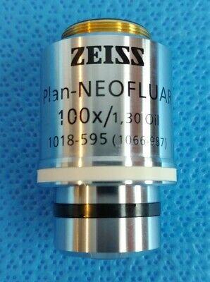 Zeiss Plan-neofluar 100x 1.30 Oil Microscope Objective Infinity0.17