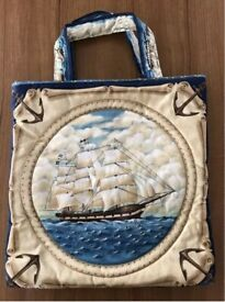 Handcrafted Quilted Bag - Lovely Gift