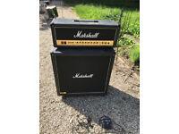 Marshall JCM 2000 DSL 50 Amp and cabinet