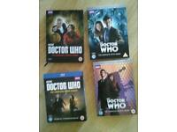 Doctor who dvds and books