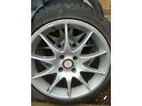 "17"" alloys ford pug fitment"