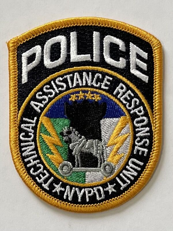 NYPD Technical Assistance Response Unit Patch New York City Police